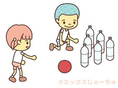 Plastic Bottle Bowling-c