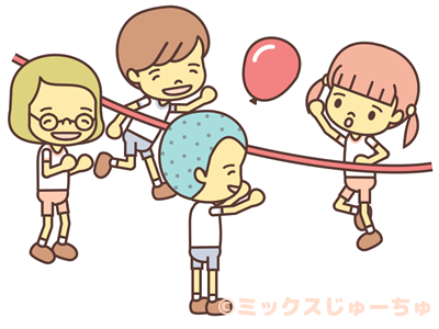 balloon volleyball japanese children s games mixed juichu clipart children playing in summer clipart children playing soccer
