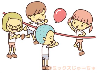 Balloon Volleyball Japanese Children S Games Mixed Juichu