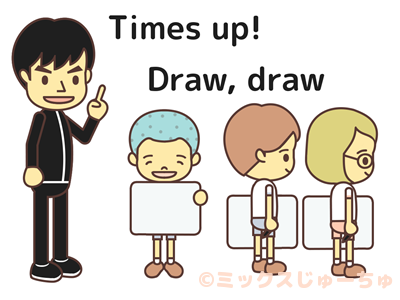 Drawing Pictures Relay Game-c2